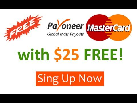 How to Free Payoneer Card
