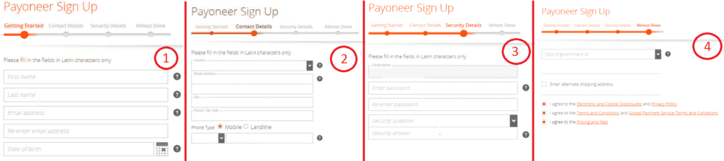 How to Apply for Payoneer card