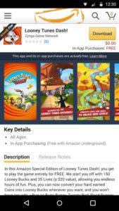 amazon underground app store download